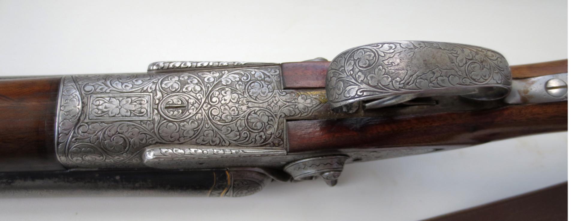 Бельгийская двустволка Lepage a Liege, 1906 г  :Аукцион
