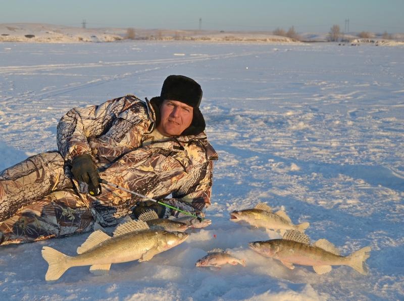 зимняя рыбалка на толстолоба