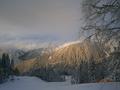 Дивный вечерок в горах