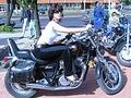 Девушка.Мотоцикл.