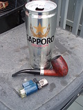 пиво и табак
