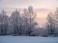 Зимний закат 2004