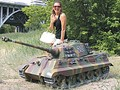 модель 1:4 Королевский Тигр