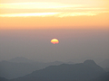Восход на горе Моисея
