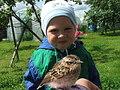 Мой Димка-2:)В деревне.