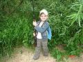 Юная охотница Настена