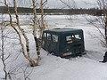 Кольский, зимой