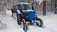 Лучший транспорт на зимней охоте ;)