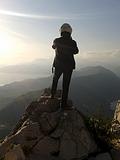 На мотоцикле в горах Черногории...
