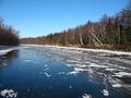 Остров Сахалин.Лёд, снег, деревья, улов.